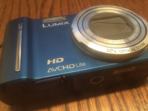 Panasonic LUMIX DMC-ZS7/DMC-TZ10 12.1 MP Digital Camera - Blue