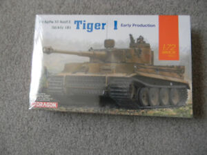 Dragon 1/72 Tiger Early Production 7482