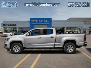 2017 Chevrolet Colorado WT  -  Towing Package - $191.53 B/W