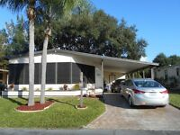 large beautiful mobile home near St Petes Fla