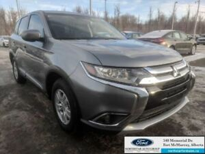 2018 Mitsubishi Outlander ES AWC|2.4L|Heated Seats|Back-up Camer