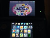 Nintendo 3ds blue with games