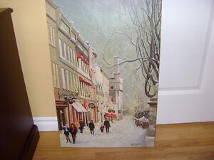TABLEAU - Peintre André Latulippe.