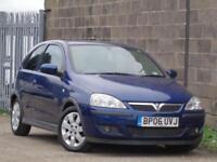 2006 Vauxhall Corsa 1.2i 16v SXi+***LOW MILES 90K + MOT EXPIRES SEP/18***