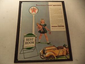 OLD CLASSIC CAR GAS STATION AD Windsor Region Ontario image 1