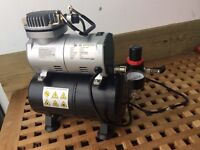 Airbrush Compressor with tank