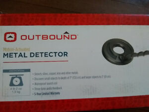 OUTBOUND motion activated metal detector