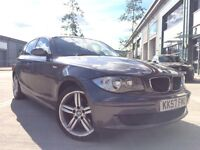 2008 BMW 118D *FULL SERVICE HISTORY* LOW MILES £30 ROAD TAX M SPORT WHEELS 1 series