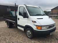 2002 52 IVECO FORD DAILY 2000 35C11 TIPPER 2.8 TURBO DIESEL 70k MAY P/X