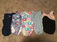 Girls gymnastics suits size 12-14