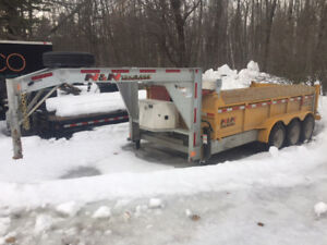 2017 N&N Dump Trailer 24000LBS (price reduced)