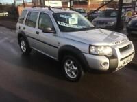 2005/05 Land Rover Freelander 2.0 Td4 SE DIESEL 5dr 4X4 ONLY 1 Owner £3695