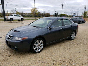2005 Acura TSX 6 speed manual. Safetied.