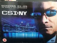 CSI NEW YORK SEASONS 1-5 £15