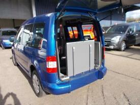 Wheelchair Accessible Volkswagen Caddy 1.9tdi
