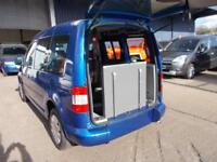 Wheelchair Accessible Volkswagen Caddy 1.9tdi