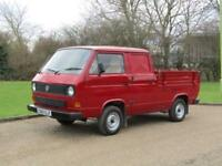 1987 Volkswagen TRANSPORTER CREW CAB 78 Pick-up FULLY RESORED MUST BE SEEN