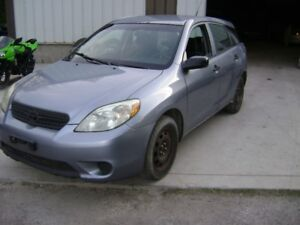 !!  PARTING OUT 2005 TOYOTA MATRIX !!