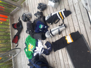 hockey equipment to fit a 6foot dude almost any size