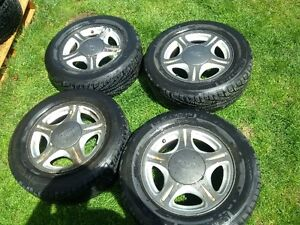 Ford Taurus Rims With Michelin Hydroedge Tires