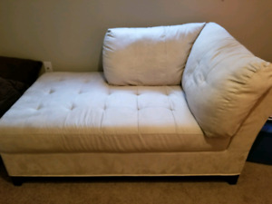 Mini micro fiber couch CLEAN smoke free