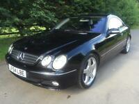 54 REG - MERCEDES CL500 AUTOMATIC SPORTS COUPE - ONLY 72,157 MILES - F.S.H