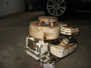 Old Briggs & Stratton engine.