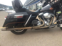 Dual Exhaust for Electraglide