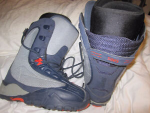 SIMS SNOWBOARD BOOTS *WOMANS SIZE 8 (OR MENS SIZE 7)