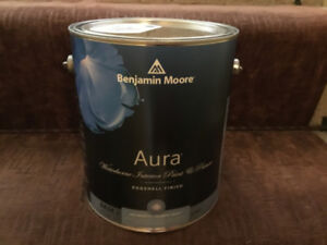 ONE GALLON BENJAMIN MOORE AURA PAINT