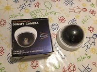 3 FAKE DUMMY CCTV SECURITY CAMERA S