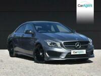 2014 Mercedes-Benz CLA 1.6 CLA180 AMG SPORT 4d 122 BHP Coupe Petrol Manual