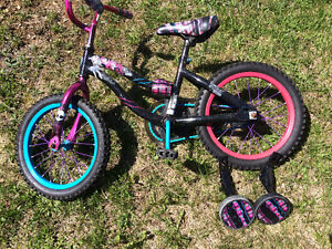"""16"""" Monster High bike - very good condition!"""