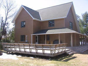 255 SAND BAY RD....,  WATER FRONT PROPERTY
