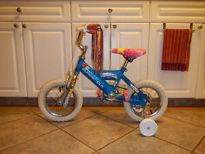 Supercycle 12.5 inch Pedal Bike with Training Wheels