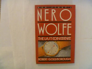 NERO WOLFE HC By Robert Goldsborough - The Last Coincidence