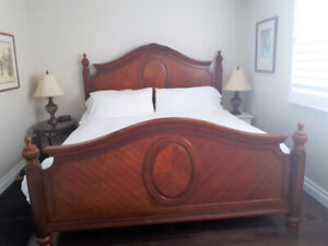 Outstanding Fairmont King Bed Headboard Footboard and Rails