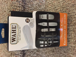 New! Wahl travel kit battery trimmer grooming kit with case