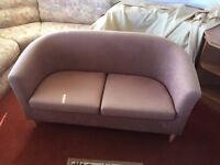 Small two-seater sofa