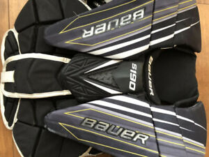 Bauer S190 Intermediate Medium Goalie Chest Protector