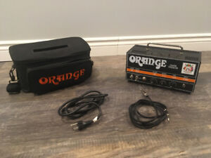 Orange Dark Terror amplifier head LIGHTLY USED - great condition