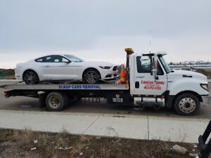 CAR,BUS,RV & TRUCK TOWING WE PAY $$ 4 SCRAP CARS, 403 852 5555