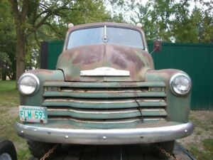1951 3/4 TON CHEV FARM TRUCK FROM WESTERN CAN