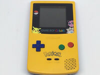 Rare Special Pikachu Edition Gameboy Color With Pokemon Red