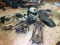SKI-DOO PARTS REV REV XP AND ZX also buying sleds