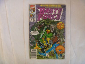 BRUTE FORCE by Marvel Comics