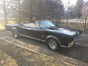 Rare 1967 Oldsmobile Cutlass Supreme Convertible V8 Big Block