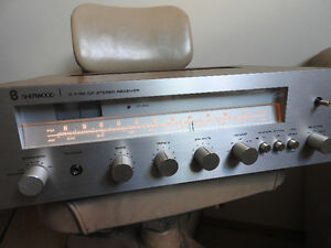 Sherwood 1979 Receiver S-7150 CP Wood Case