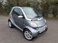 SMART PASSION SOFTOUCH AUTOMATIC SILVER 2 DOOR COUPE PETROL 2002