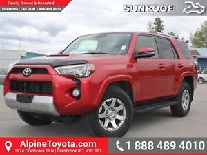 2014 Toyota 4Runner Trail Edition  Mechanical T-Case - Sunroof -